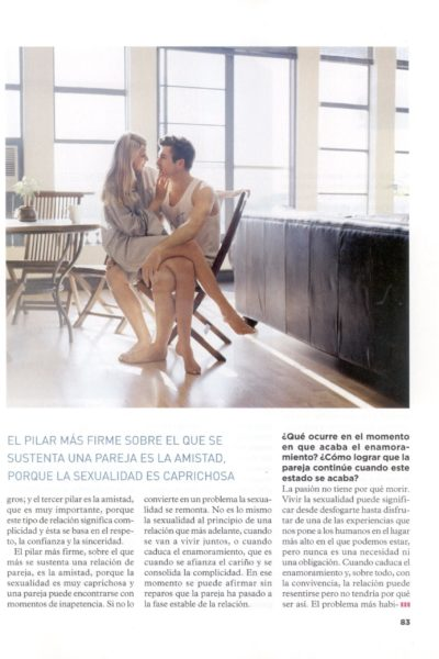 Revista Psychologies - Montse Calvo - Julio 09 - 2